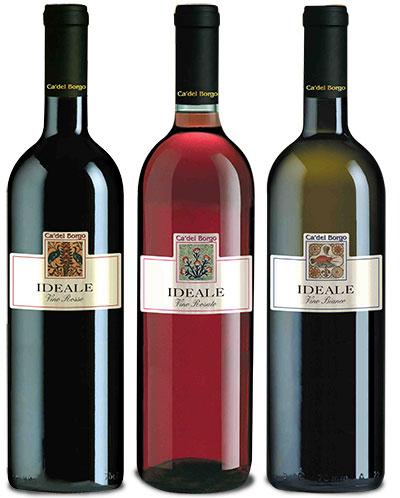 Prodotti i selezionati Linea Azzurra Vini Ca del Borgo